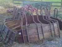 I have two HiQual round bale feeder for sale $300.00 Ea