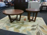 Beautiful Bamboo wood Coffee Table and End Table set!