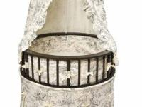 Beautiful Badger Basket Bassinet! Bought online two