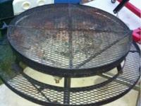 Round BBQ grill - the kind you want to gather around