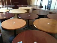 Round Conference Tables All sizes and colors. Wood and