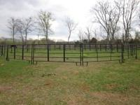 "New Round Pen Panels for Horses - 12' long, 5' 2"" tall."