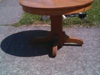 This table is a Watertown Slide Co. Table. It has 3