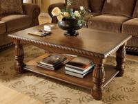 With rich finishes and Old World details, the ornate