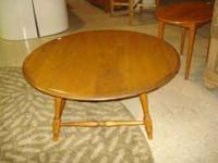 This coffee table is in good condition & has a great