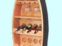 Type: Dining RoomType: Rowboat Wine RackSolid wood