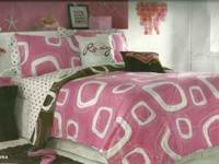 9 piece full comforter set. Includes: one full/queen