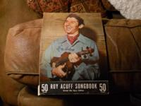 Roy Acuff Songbook, Grand Ole Opry Edition. The cover