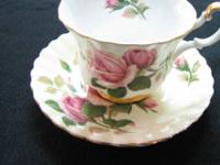 Royal Albert bone china cup & suacer- England --