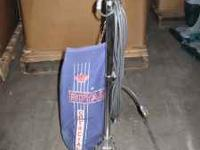 We have a nice working Royal commercial vacuum for sale