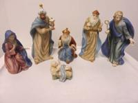 This is the Royal Doulton 6 Piece Classic Nativity set.