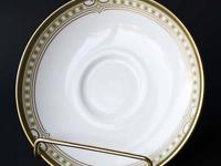 Saucer (footed, not flat) in the Lichfield pattern H