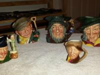 I have 5 Royal Doulton mugs ... made in England.