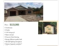 $ 119,900 AVAILABLE NOW! Buyer may choose the paint and