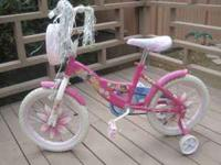 This is a Royal Princess bicycle for a girl ages from