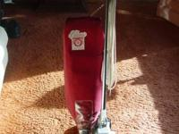 Royal Lightweight All Metal Upright Vacuum Cleaner.