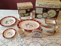 ROYAL SEASONS STONEWARE 8 EA. DINNER PLATES 8 MUGS 8