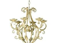Elegant candle light holder chandelier is naturally