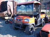 2008 Kubota RTV 900- 4x4, diesel, hard top with wind