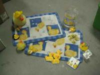 everything you need for rubber duck bathroom set