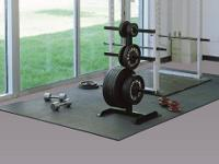 COMMERCIAL MATS RUBBER FLOOR: Protects equipment and