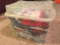 Rubbermaid included. 165 pieces. Gently used. Smoke