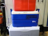Rubbermaid Poloron Igloo Ice Chest Coolers Large Small