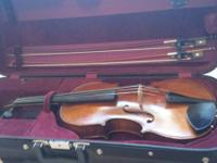 Offering a viola / case / 2x bows. These products were