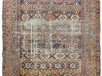 Rug #554 - Antique Distressed Shirvan Rug Origin: