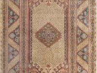 Vintage Hand-Knotted Turkish Rug Origin: Other Size: 30