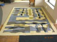 7x9 New regal waves decorative rug, By-Capel/Kaleen.