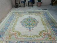 CHINESE AUBUSSON WOOL RUG - 8' X 10'.  This is a