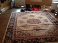 Huge space size rug. All wool paid over $500 several