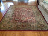 "Beautiful 7'6""x9'6"" Rug.  Great condition. $150."