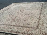 9.3 ft x 12.6 ft. room size rug. Excellent and clean