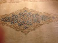 This rug was purchased from auction in the 1950's by a
