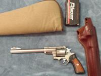 Ruger Super Redhawk stainless steel 44 magnum with 9.5