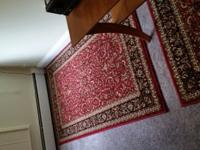 Radici rugs- 4 rugs in very good cond, two are 8 by 11