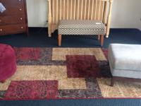 We have a small assortment of rugs available. All of