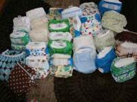 I have 25 Rump a rooz cloth diapers for sale, along