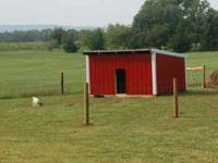 Nice 12 x 10 run-in shed. Excellent for goats, calves