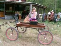 Great little carriage.. good condition will take 800.00