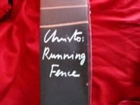 Christo: Running Fence. This book is one of a special