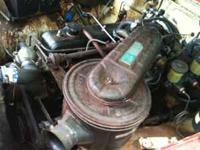 Running Toyota Straight 6 F Motor with good working 3