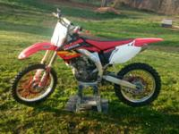 Up for sale is my 2004 Honda CRF 450 with a 4mm Big