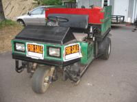 Selling a 1997 Cushman 3 wheeler turf truckster. The
