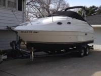 For sale is my 2003 Regal 2465, cabin cruiser. Great