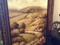 Rural Landscape Painting. $1,400.  INVIO GREAT