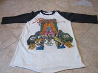Rush 1980 tour jersey. This raglan jersey is an