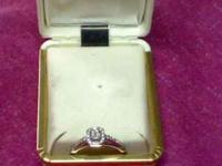 THIS RING WAS PURCHASED AT HARRY RITCHIES IN LEWISTON